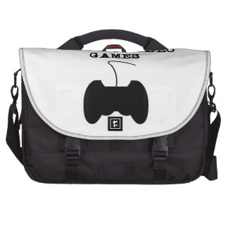 I'd Rather Be Playing Video Games Laptop Bag