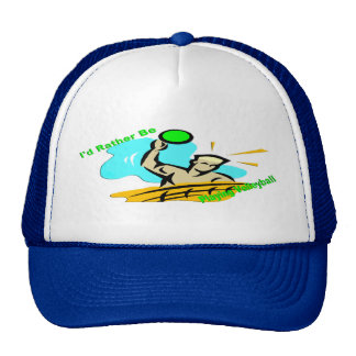 I'd Rather Be Playing Volleyball Trucker Hat