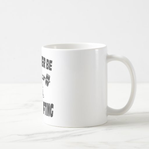 I'd Rather Be Powerlifting Weightlifting Coffee Mug