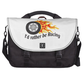 ID RATHER BE RACING BAGS FOR LAPTOP