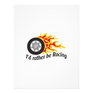 ID RATHER BE RACING LETTERHEAD