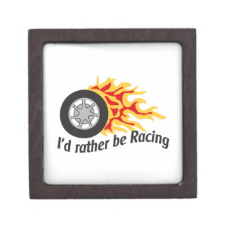 ID RATHER BE RACING PREMIUM JEWELRY BOXES