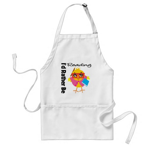 I'd Rather Be Reading Aprons