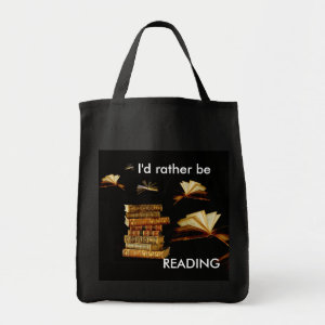 I'd rather be READING bag