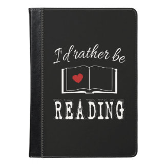 I'd rather be reading iPad air case