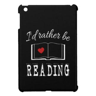 I'd rather be reading iPad mini covers