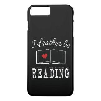 I'd rather be reading iPhone 8 plus/7 plus case