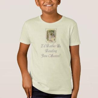 I'd Rather Be Reading Jane Austen! Kids Organic T T-Shirt