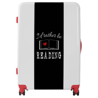 I'd rather be reading luggage