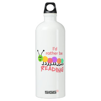 ID RATHER BE READING SIGG TRAVELER 1.0L WATER BOTTLE