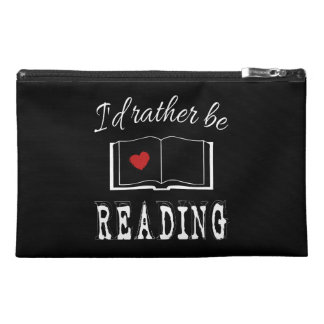 I'd rather be reading travel accessory bag
