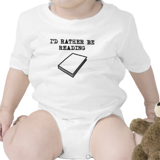 I'd Rather Be Reading Baby Bodysuit