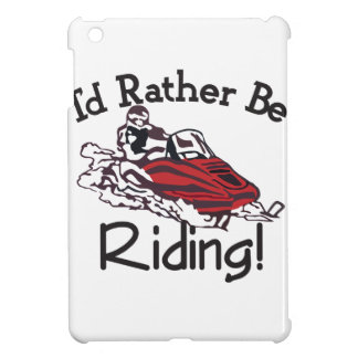 Id Rather Be Riding Case For The iPad Mini