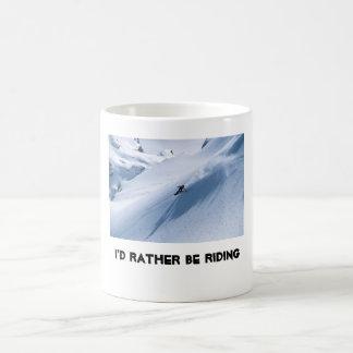 I'd rather be riding coffee mug