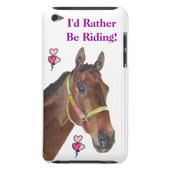 I'd Rather Be Riding! Equestrian Horse Case-Mate C