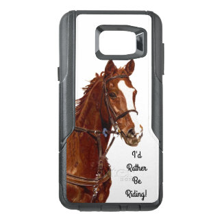 I'd Rather Be Riding! Equestrian Horse OtterBox Samsung Note 5 Case
