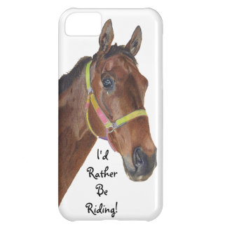 I'd Rather Be Riding! Equestrian iPhone 5 Case