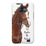 I'd Rather Be Riding! Horse Case-Mate Case Samsung Galaxy SII Cases