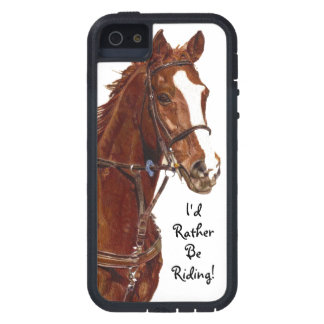 I'd Rather Be Riding! Horse Case-Mate Case iPhone 5 Cover