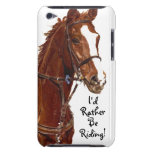 I'd Rather Be Riding! Horse iPod Speck Case iPod Touch Case-Mate Case