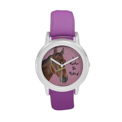 I'd Rather Be Riding! Horse Watches