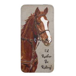I'd Rather Be Riding iPhone 5/5S Pouch iPhone 5 Pouch