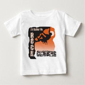 I'd Rather Be Rock Climbing Guys Infant T-shirt
