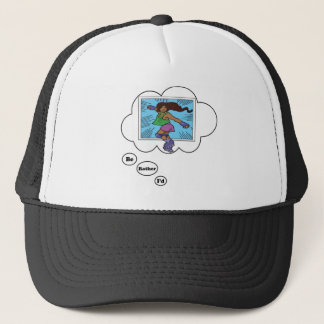 I'd rather be Roller Blading 5 Trucker Hat