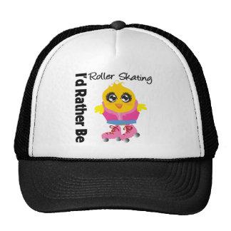 I'd Rather Be Roller Skating Trucker Hat