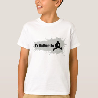 I'd Rather Be Rollerblading T-Shirt