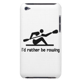 I'd rather be rowing barely there iPod covers