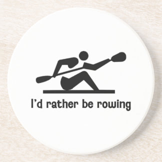 I'd rather be rowing coaster