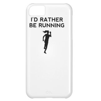 I'd Rather Be Running iPhone 5C Cases