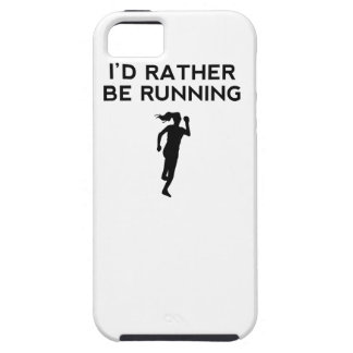 I'd Rather Be Running iPhone 5 Covers