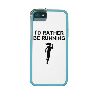 I'd Rather Be Running Case For iPhone 5/5S