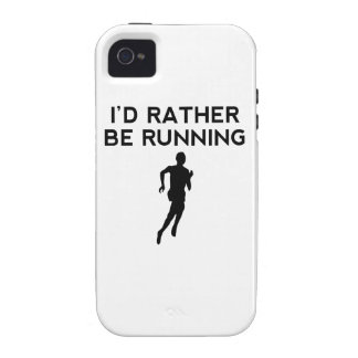 I'd Rather Be Running Case-Mate iPhone 4 Cases
