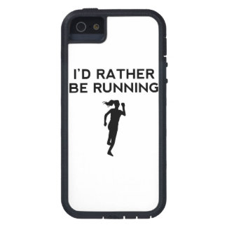 I'd Rather Be Running iPhone 5 Cases