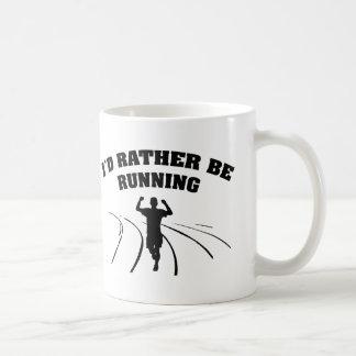 I'd Rather Be Running Coffee Mug