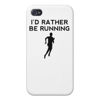 I'd Rather Be Running iPhone 4/4S Cover