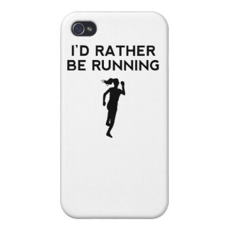 I'd Rather Be Running Covers For iPhone 4