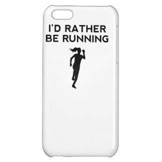 I'd Rather Be Running iPhone 5C Cover