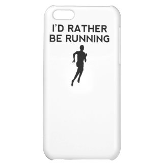 I'd Rather Be Running iPhone 5C Covers