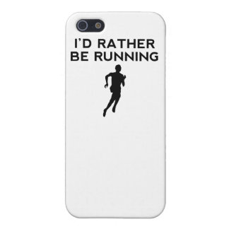 I'd Rather Be Running Cover For iPhone 5