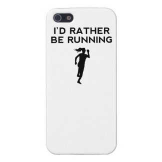 I'd Rather Be Running iPhone 5/5S Covers