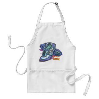 I'd Rather Be Running _ Sneakers Adult Apron