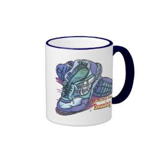 I'd Rather Be Running _ Sneakers Ringer Mug