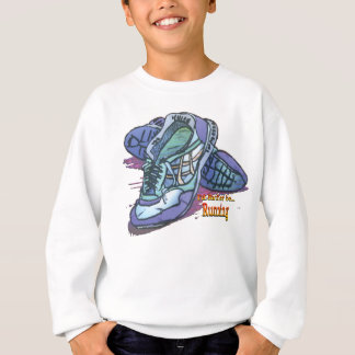 I'd Rather Be Running _ Sneakers Sweatshirt