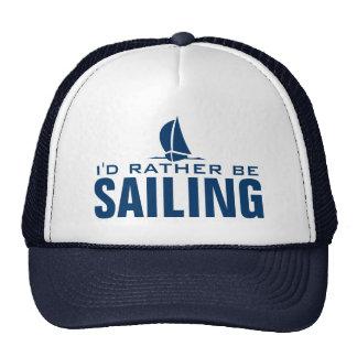 I'd rather be sailing hat