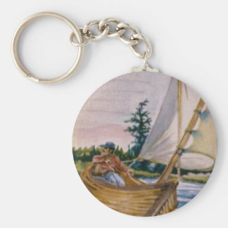 I'd rather be sailing... keychains