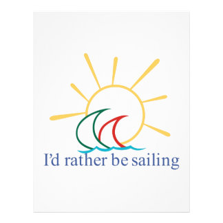 Id Rather Be Sailing Letterhead